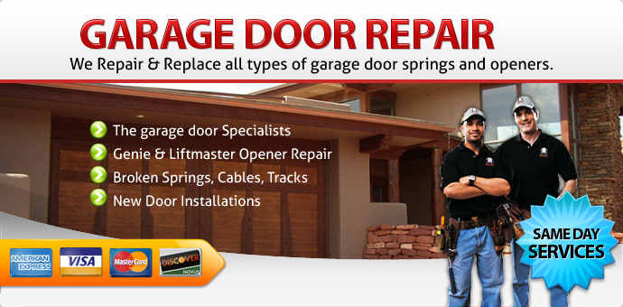 Garage door repair Desert Hot Springs CA